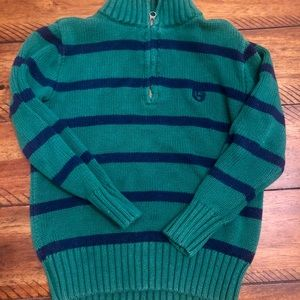 Chaps Boys Sweater 1/4 zip